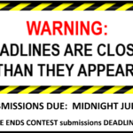 TIE UP LOOSE ENDS CONTEST DEADLINE EXTENDED