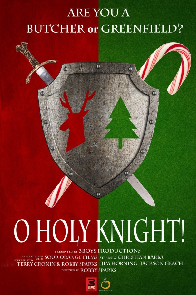 O HOLY KNIGHT premieres at the Melbourne Independent Filmmakers FestivalSaturday, October 20th!
