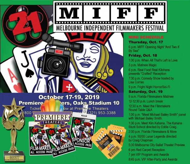 MIFF 2019 SCHEDULE OF FILM TIMES AND EVENTS