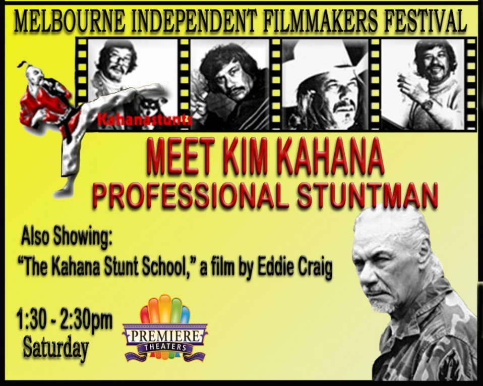 Meet Stuntman Kim Kahana
